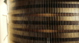 Radiator with Cooling Fins