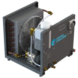 ACW dry cooler from chase cooling systems